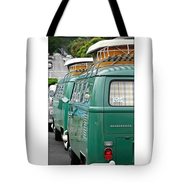 Vw Buses #carphotographer #vw #vwbus Tote Bag by Jill Reger
