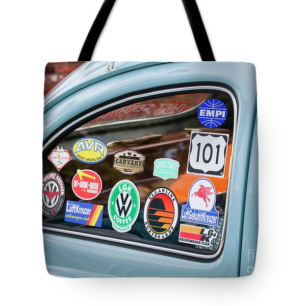 Tote Bag featuring the photograph Vw Club by Chris Dutton