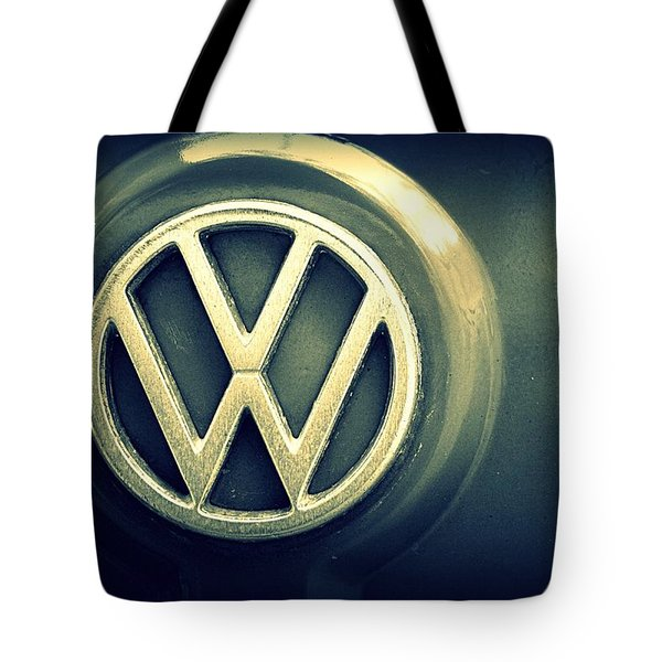 Vw Thing Emblem Tote Bag by Joseph Skompski