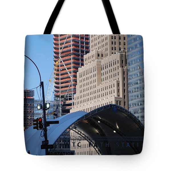 W T C Path Station Tote Bag by Rob Hans