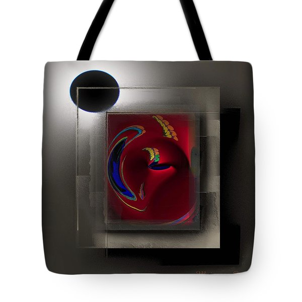 W W Tote Bag by Ines Garay-Colomba