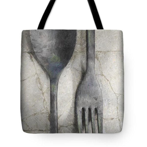 Wabi Sabi Utensils Tote Bag