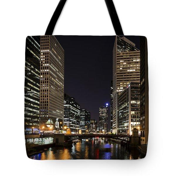 Wacker Avenue Tote Bag