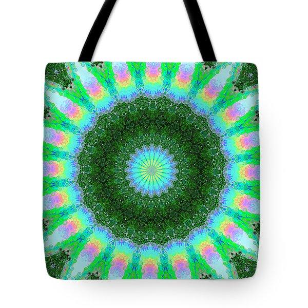 Wacky Kaleidoscope Tote Bag