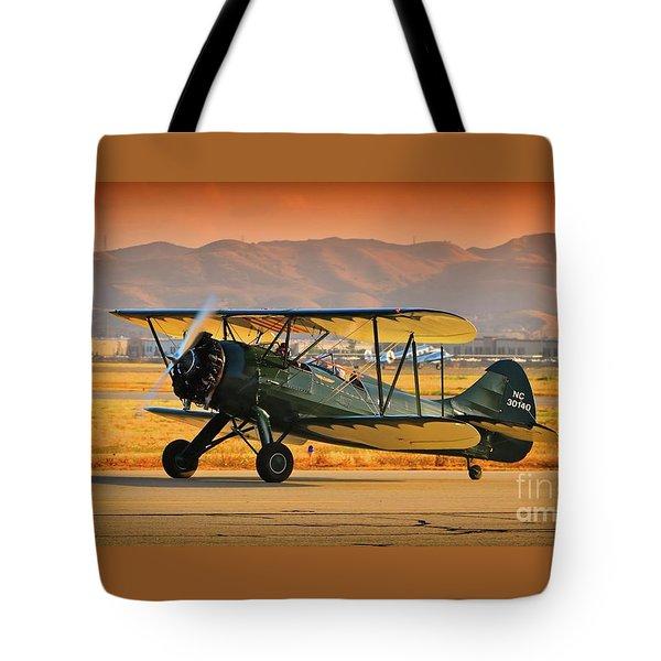 Waco Upf-7  Version 2 Tote Bag