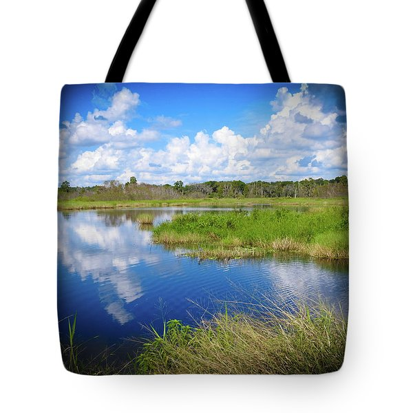 Wading Bird Way Tote Bag