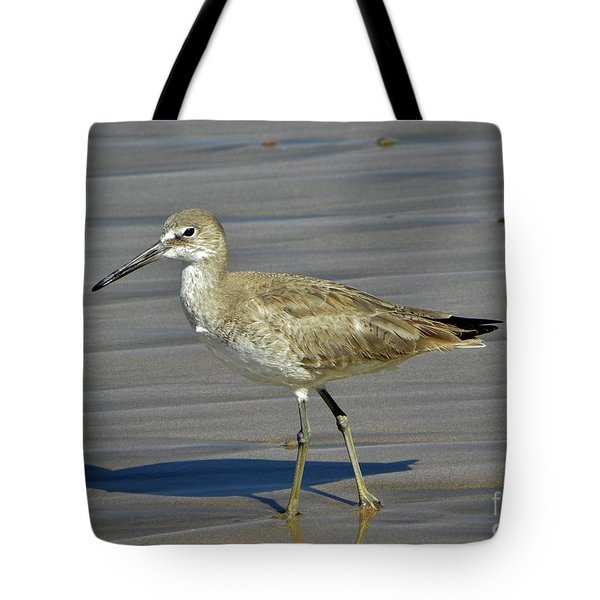 Wading Day Tote Bag by Sheila Ping