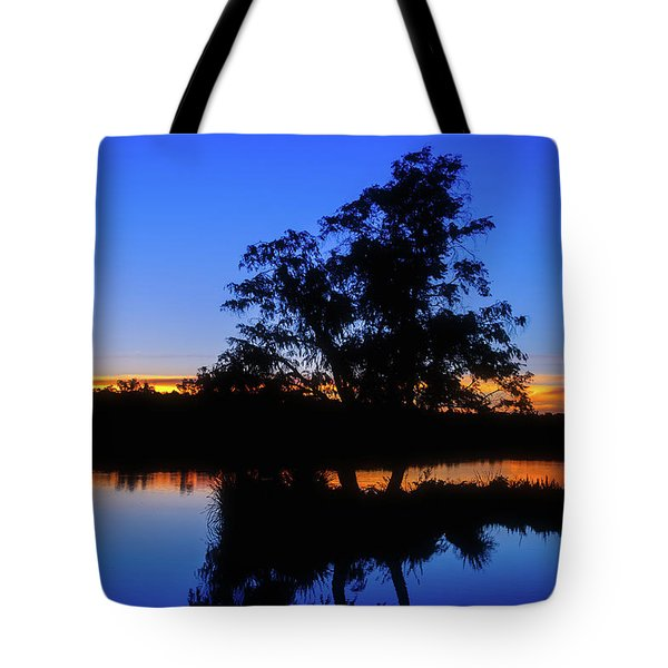 Wagardu Lake, Yanchep National Park Tote Bag by Dave Catley