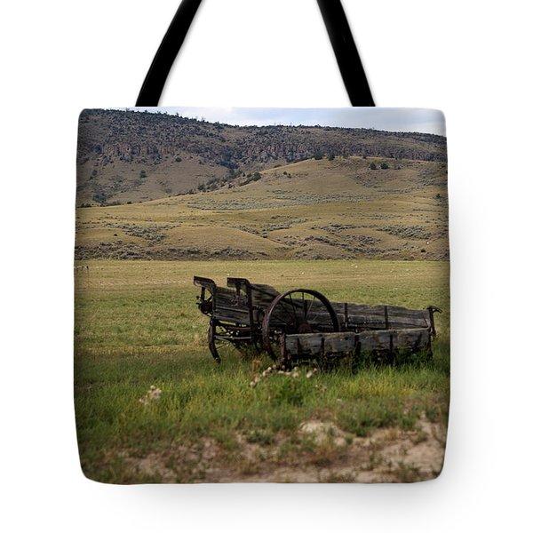 Wagon Ho Tote Bag by Marty Koch