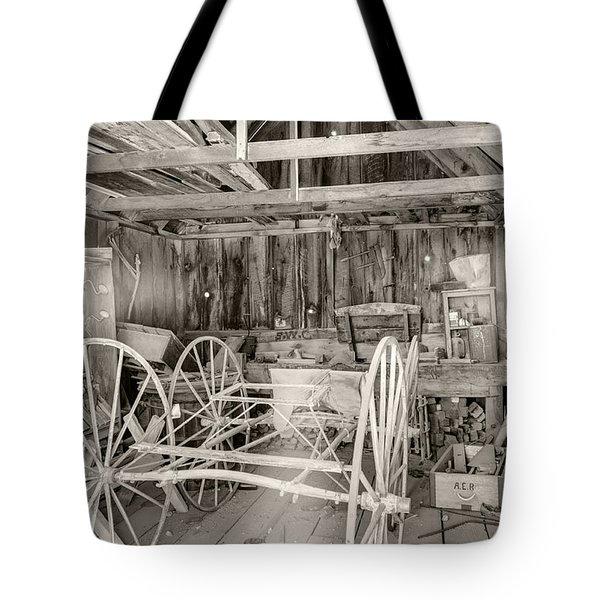 Wagon Repair Tote Bag