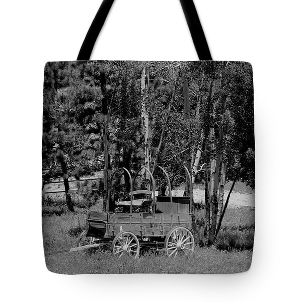 Wagon Trail Tote Bag