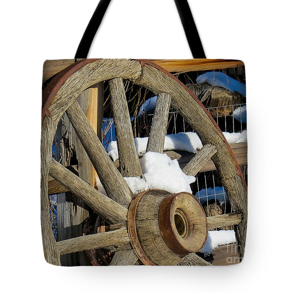 Wagon Wheel 1 Tote Bag