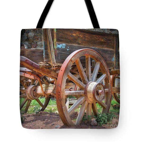 Wagons Ho Tote Bag