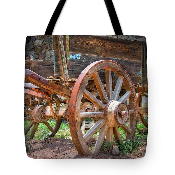 Wagons Ho Tote Bag
