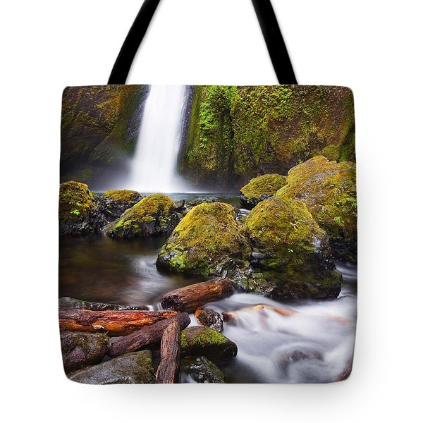Wahclella Tote Bag by Mike  Dawson