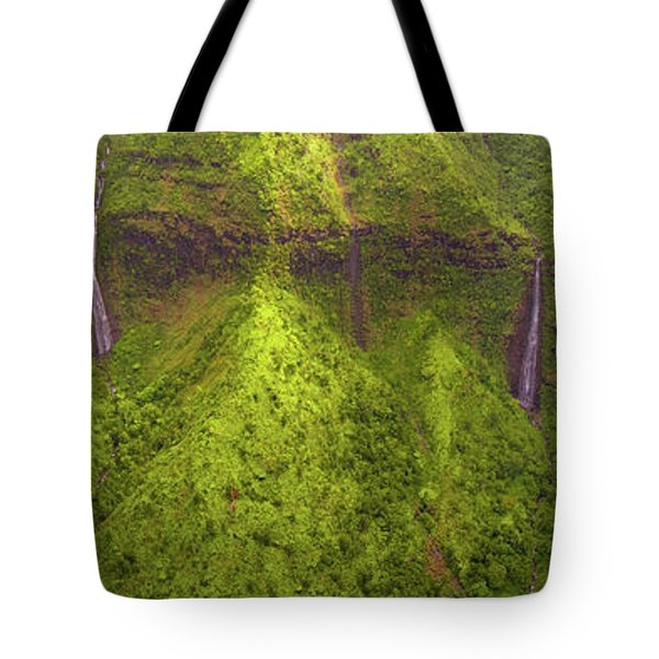 Waialeale Waterfalls Tote Bag