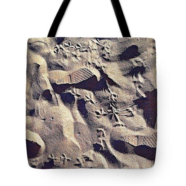 Waikiki Sand Tote Bag