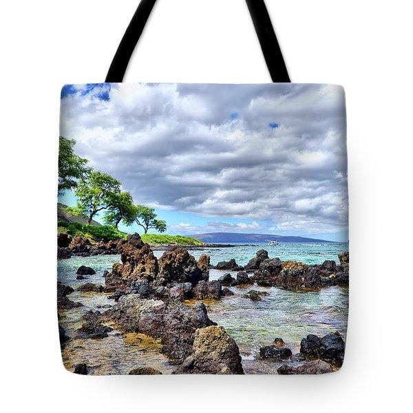 Wailea Beach #2 Tote Bag