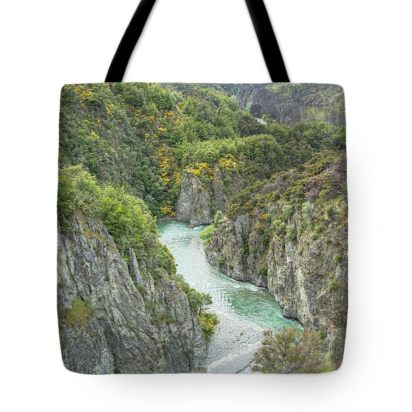 Tote Bag featuring the photograph Waimakariri Gorge by Cheryl Strahl