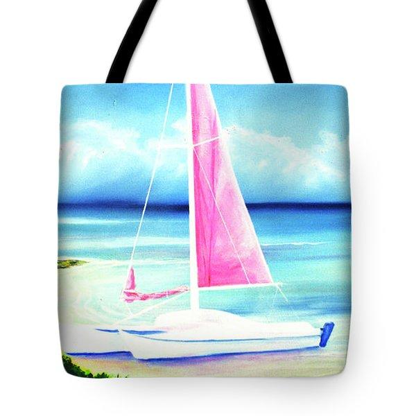 Waimanalo Beach #187 Tote Bag by Donald k Hall