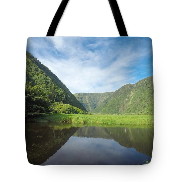 Waimanu Valley Tote Bag