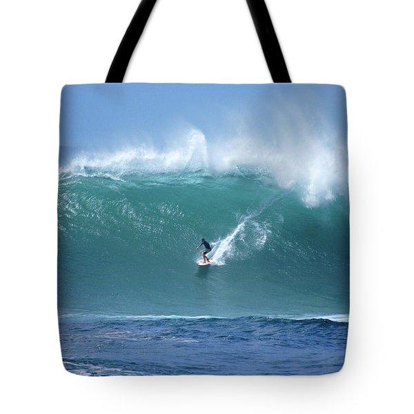 Waimea Bay Boomer Tote Bag by Kevin Smith