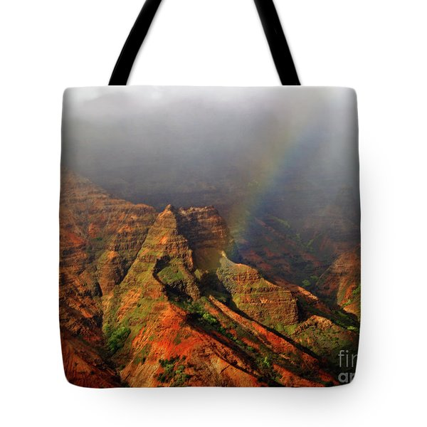 Waimea Canyon I Tote Bag by Patricia Griffin Brett