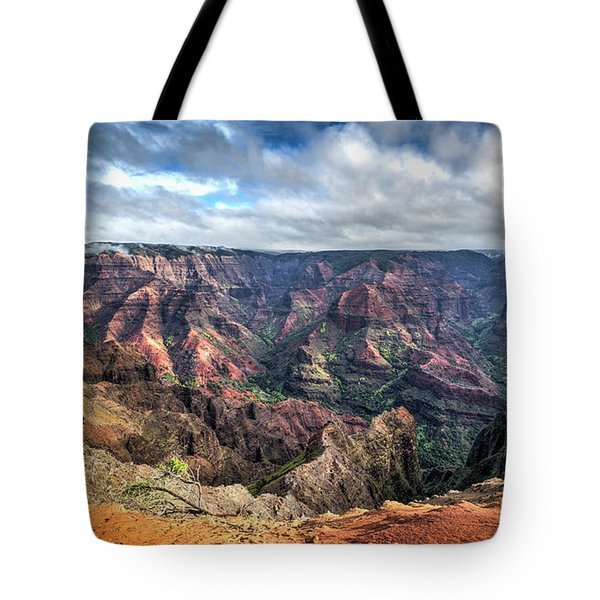 Waimea Canyon Kauai Hawaii Tote Bag