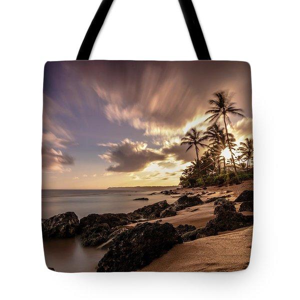 Wainiha Kauai Hawaii Sunrise  Tote Bag