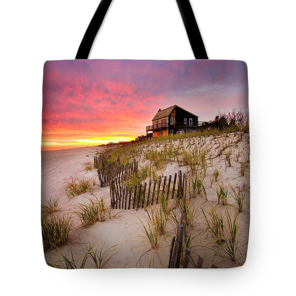 Wainscott Sunset Tote Bag