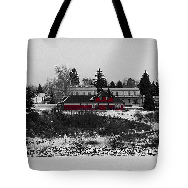 Tote Bag featuring the photograph Heritage Park by Stuart Turnbull