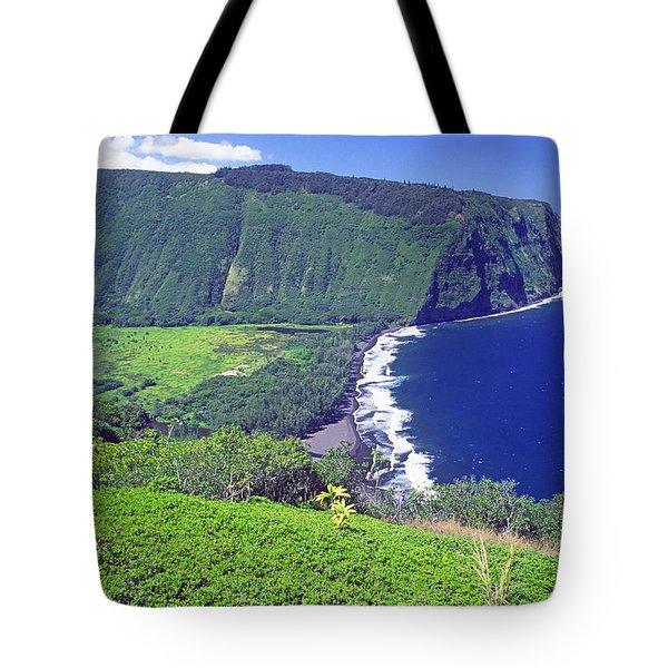 Waipio Valley, Big Island, Hawaii Tote Bag
