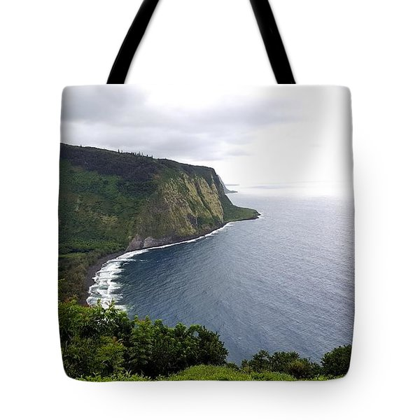 Waipio Valley Tote Bag