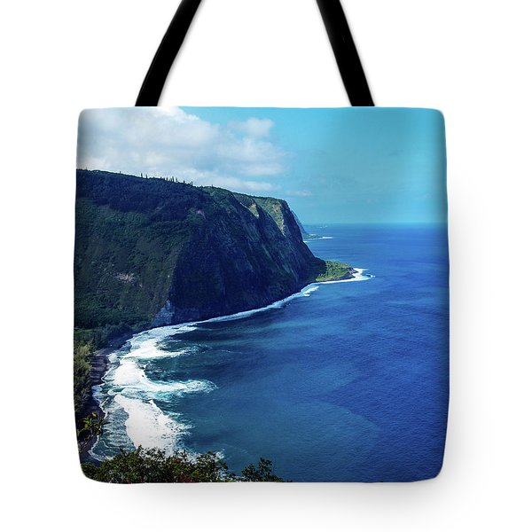 Tote Bag featuring the photograph Waipio Valley by Randy Sylvia