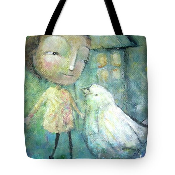 Wait And Listen Tote Bag