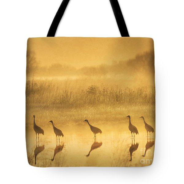 Waiting Tote Bag by Alice Cahill