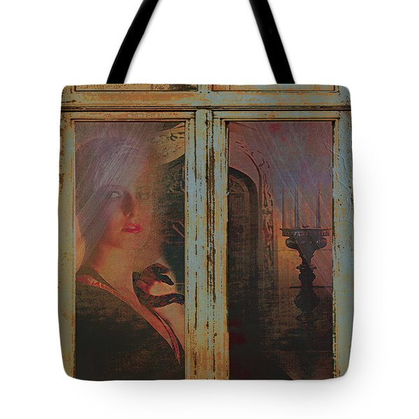 Tote Bag featuring the photograph Waiting And Watching by Jeff Burgess