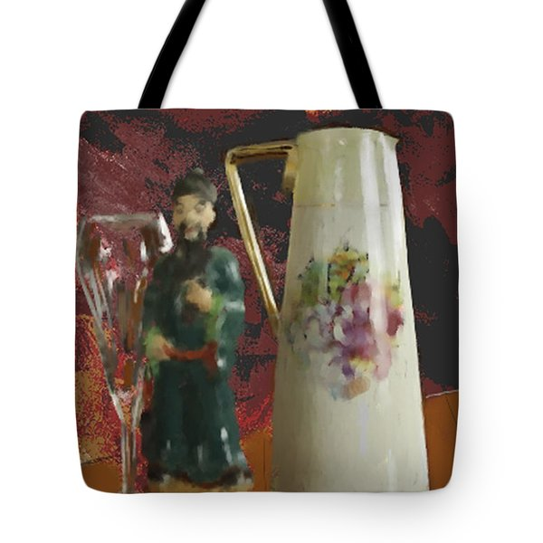 Waiting Tote Bag by Dale Stillman