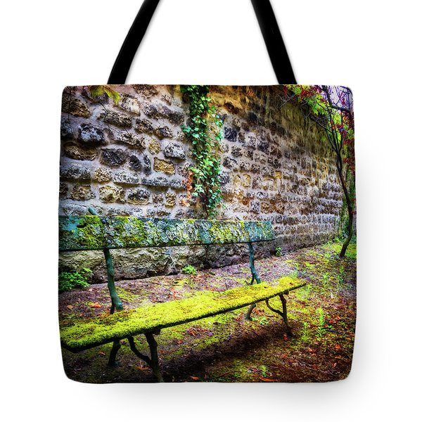 Tote Bag featuring the photograph Waiting by Debra and Dave Vanderlaan