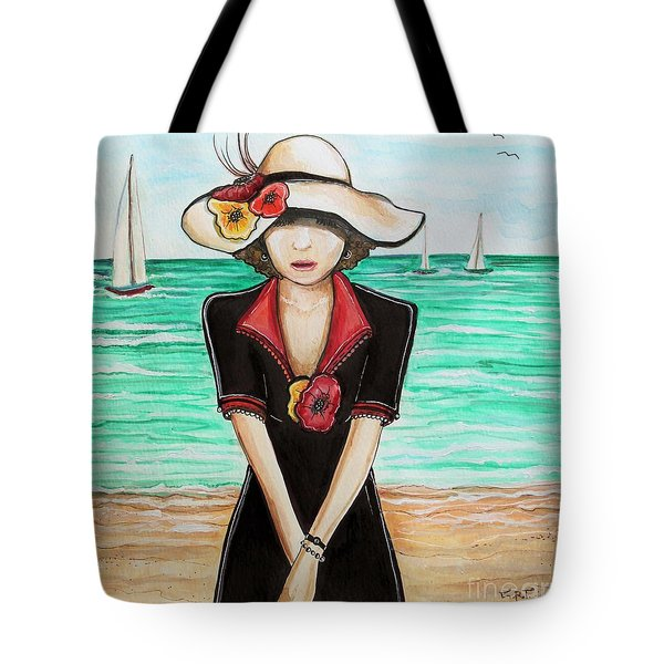 Waiting Tote Bag by Elizabeth Robinette Tyndall