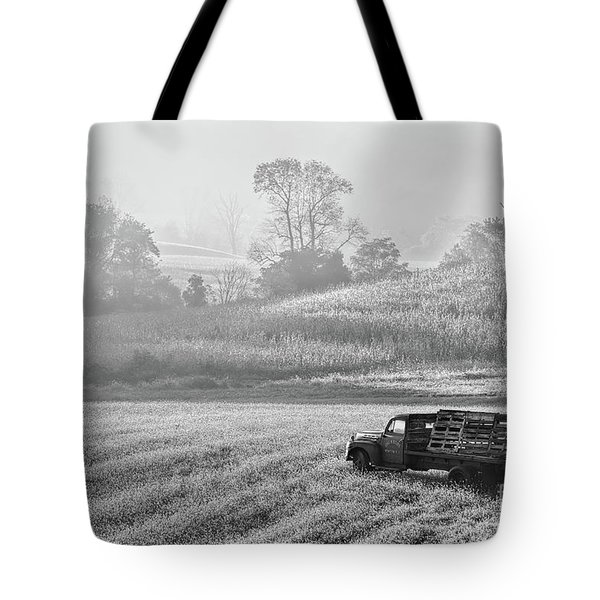 Waiting For A Load Tote Bag
