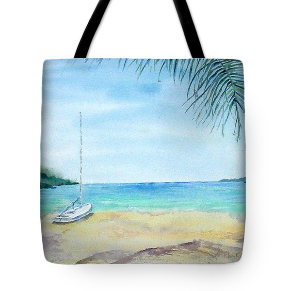 Waiting For A Sailor Tote Bag