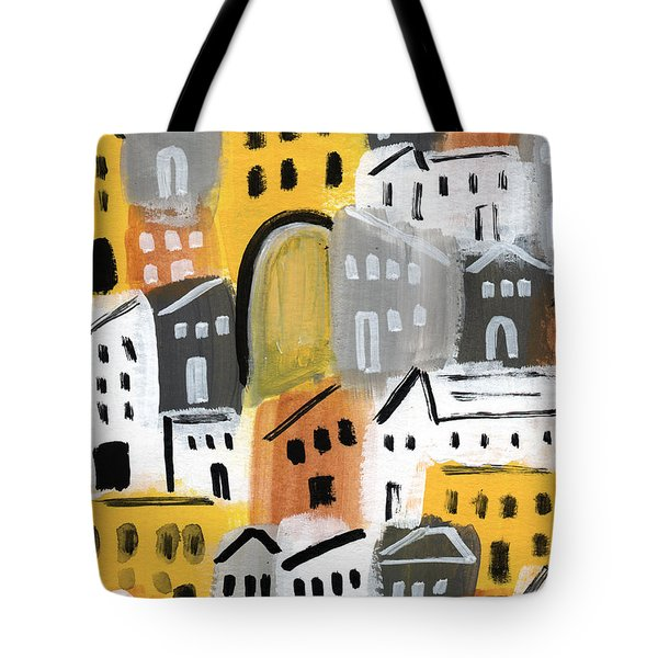 Waiting For Autumn- Expressionist Art Tote Bag