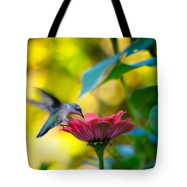 Waiting For Butterflies Tote Bag