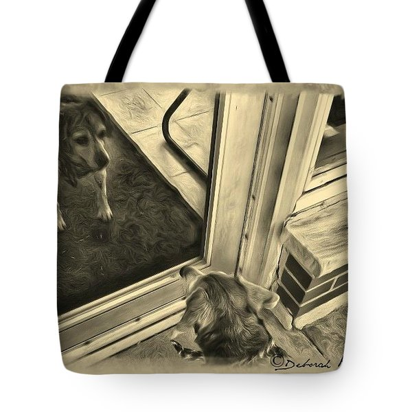 Waiting For Daddy Tote Bag