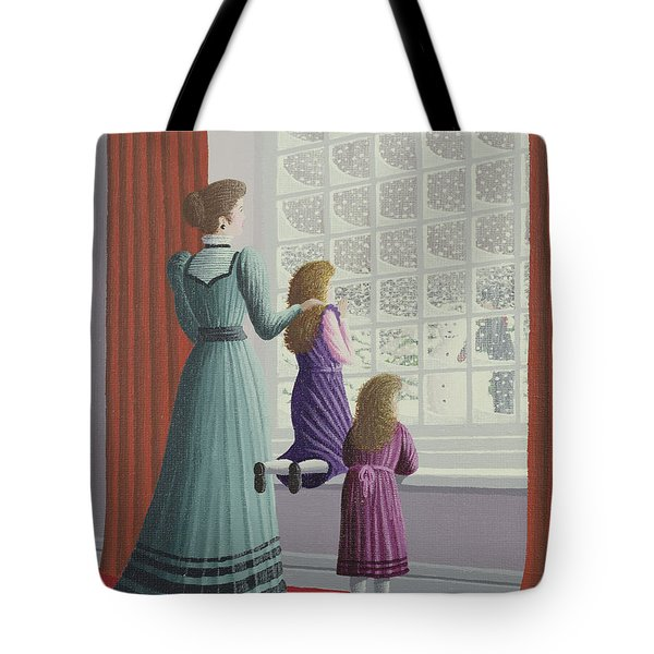 Waiting For Father Tote Bag