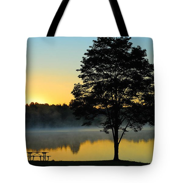 Waiting For Guests To Arrive Tote Bag