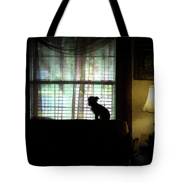 Waiting For Mama Tote Bag by Travis Burgess