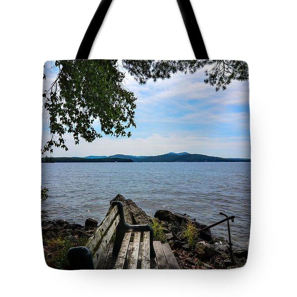 Waiting For Me Tote Bag by Mim White
