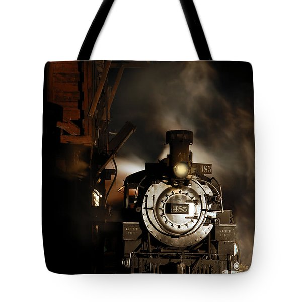 Waiting For More Coal Tote Bag
